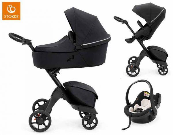 Stokke Stroller 3 In 1 Set Xplory X, Stokke Car Seat And Stroller