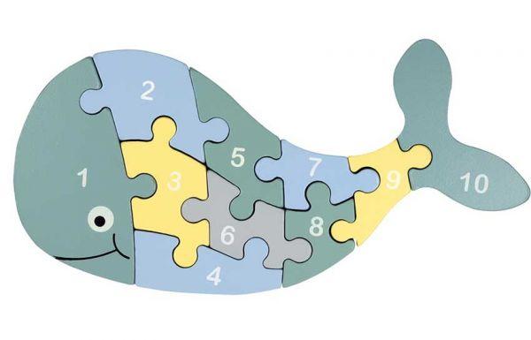 Kindsgut Zahlen-Puzzle Vorderseite