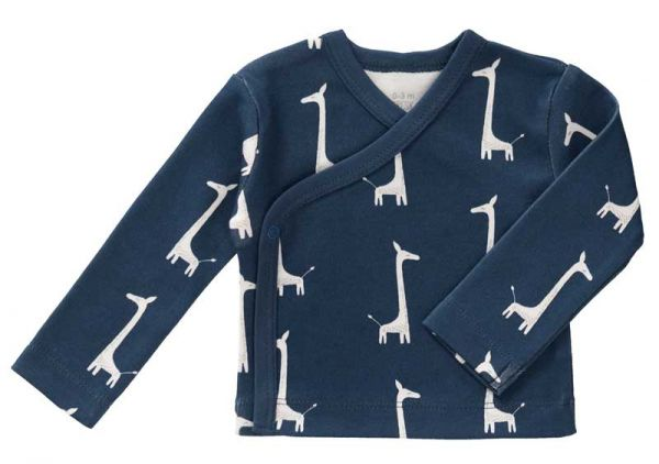 Fresk Baby Bio Wickeljacke Giraffe Indigo Blue