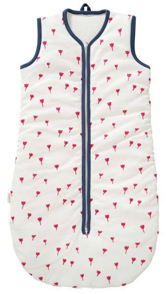Fresk Baby Schlafsack mit Teddyplüsch Tulip Red