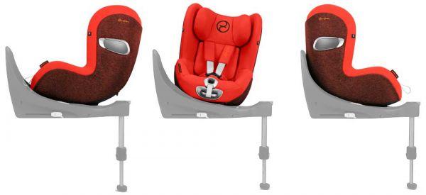 Cybex Sirona Z i-Size Kindersitz drehbar