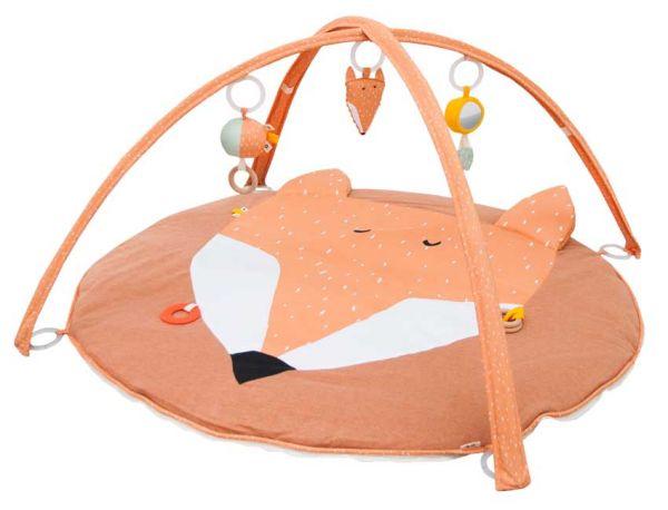 Trixie Krabbeldecke mit Spielbogen Fuchs