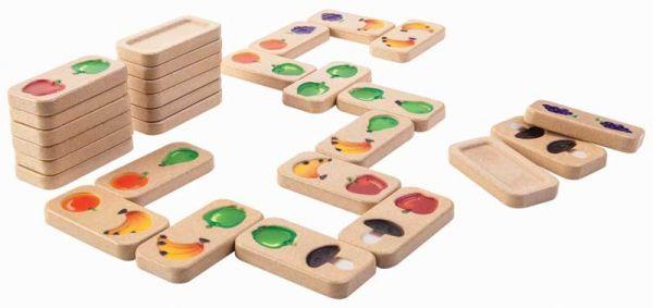 PlanToys Domino Früchte