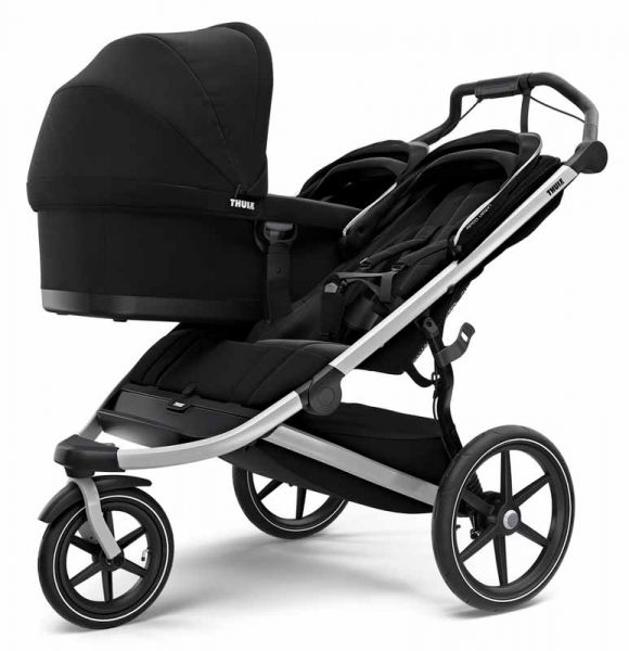 Thule Urban Glide 2 Double Kinderwagen mit Babywanne