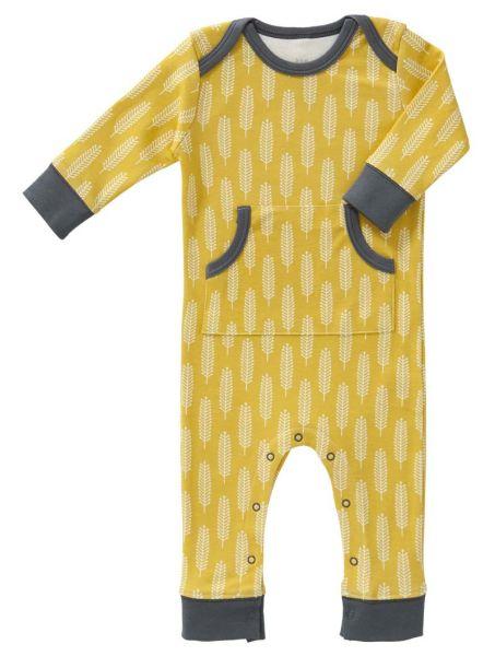 Fresk Baby Bio Strampler FP254 Havre vintage yellow