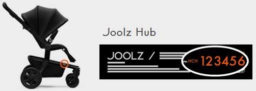 joolz-hub-seriennummer