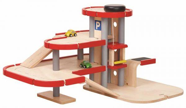 PlanToys Parkhaus groß
