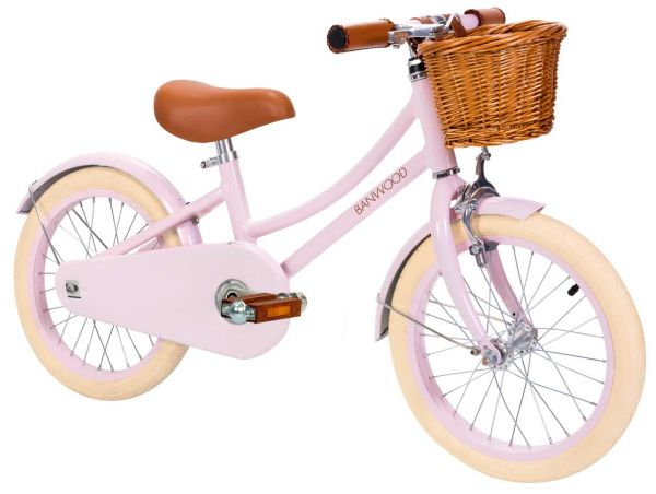 Retro Kinderfahrrad von Banwood in rosa