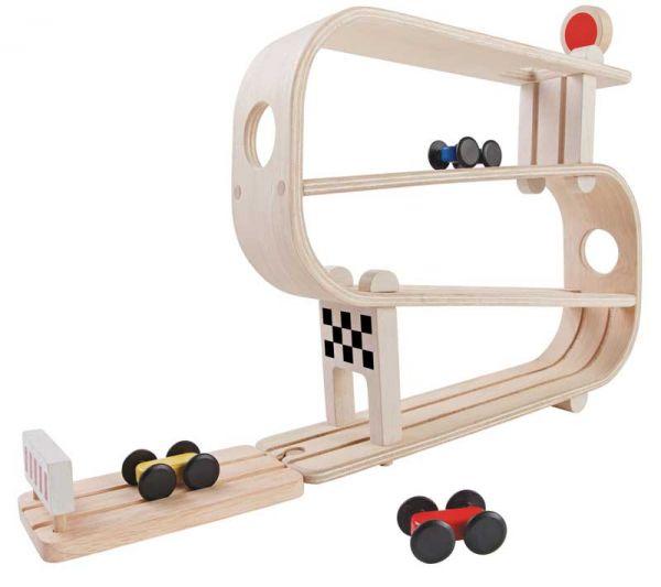PlanToys Kugelbahn Rampenrenner