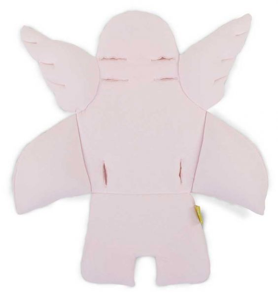 Childwood Evolu 2 Sitzkissen Engel mit Flügeln Jersey Old Pink