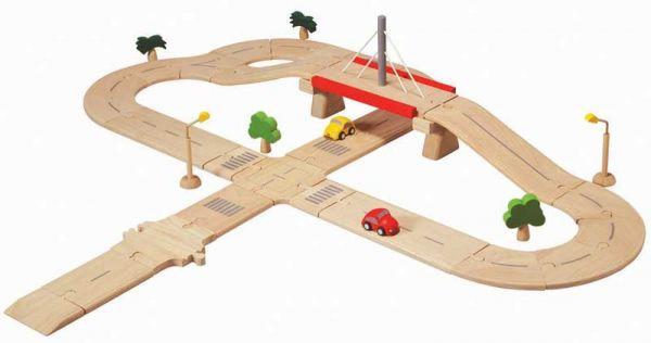 PlanToys Straßensystem Deluxe