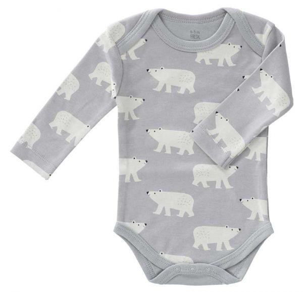 Fresk Baby Body Langarm Eisbär
