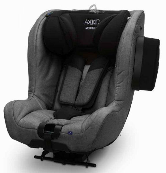 Axkid Modukid Kindersitz Granite Melange seitlich