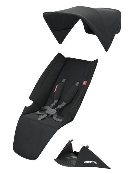 Greentom Upp Textilset Classic Sitz Black