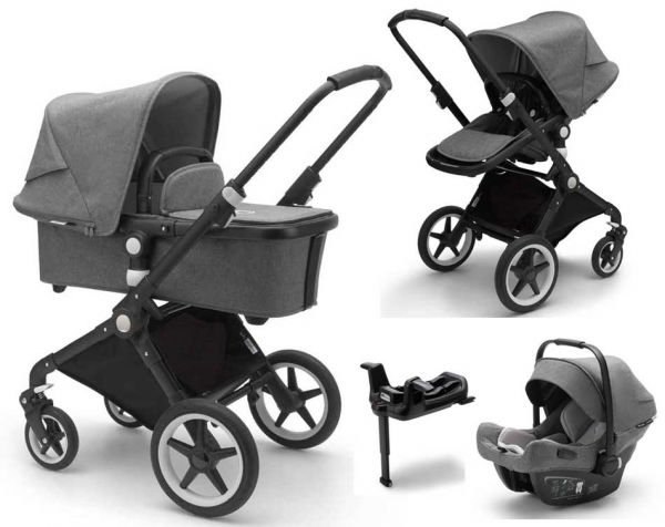 Bugaboo Lynx pram set 4-in-1 with baby car seat and Isofix