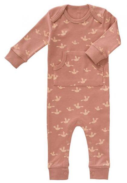 Fresk Baby Bio Strampler Vögel