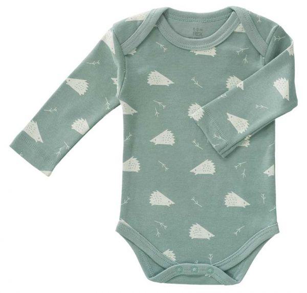 Fresk Baby Body Langarm Igel