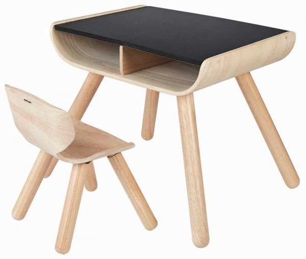 PlanToys Tisch und Stuhl für Kinder