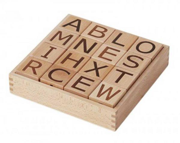 Kids Concept Holzklötze Buchstaben