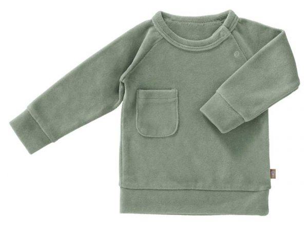 Fresk Baby Pullover Velours mint