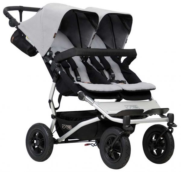 Mountain Buggy Duet grau