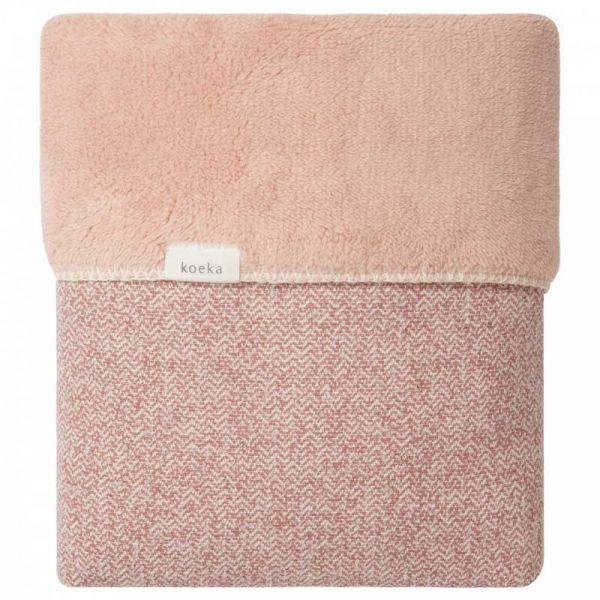 koeka Babydecke Winter Vigo Old Pink - Shadow Pink