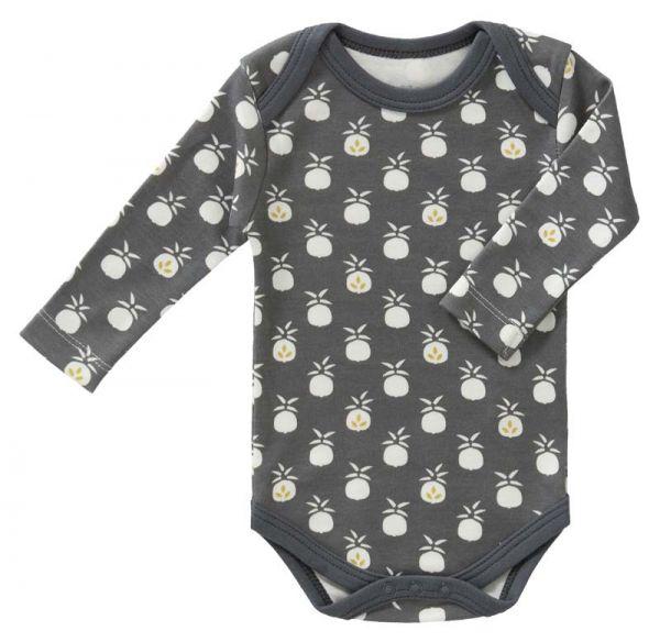 Fresk baby Bio-Body Langarm Pineapple anthracite FL458