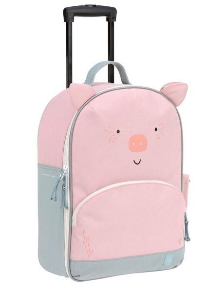 Kinderkoffer Schwein Bo