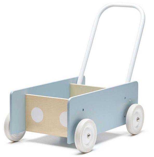 Kids Concept Lauflernwagen blau