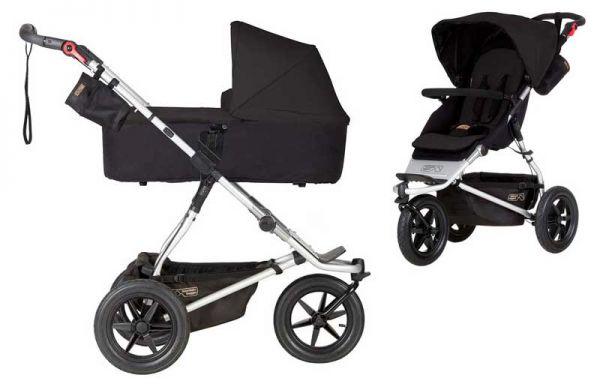 Mountain Buggy Urban Jungle 3 Kinderwagen mit Babywanne - 2019