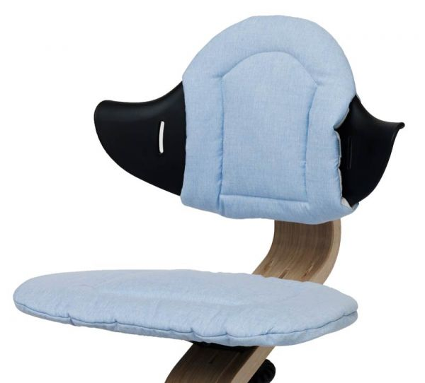 Nomi Sitzkissen für Hochstuhl blau