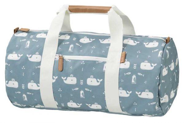 Fresk Reisetasche Wal blau