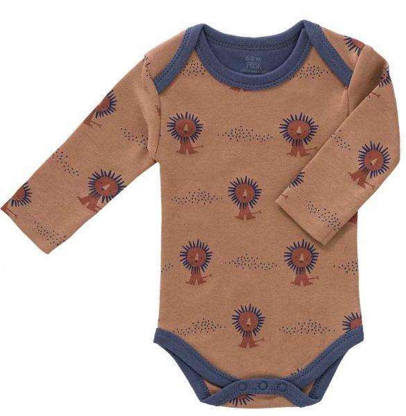 Fresk Baby Body Langarm Löwe