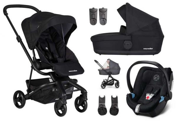 Easywalker Charley 3-in-1 Set mit Cybex Aton 5