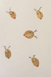 Weihnachtskarten Mit Fingerabdruck.Weihnachtsbasteln Mit Babys Mypram Blog