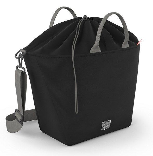 Greentom Einkaufstasche Black