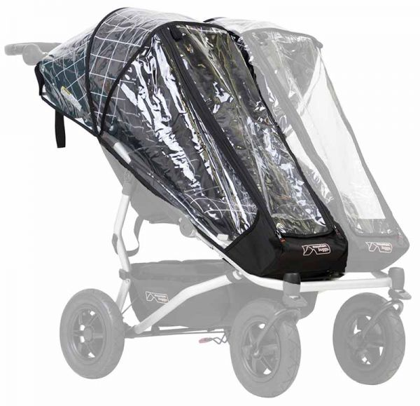 Mountain Buggy Regenschutz Duet Single