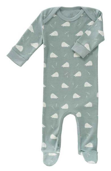 Fresk Baby Strampler mit Füßen Igel