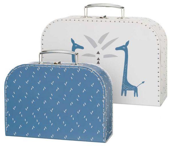 Fresk Spielzeugkoffer 2er Set Giraffe