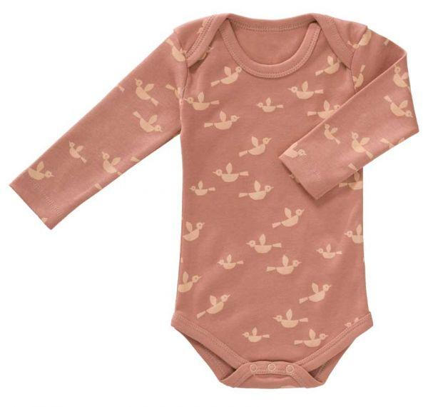 Fresk Baby Body Langarm Vögel