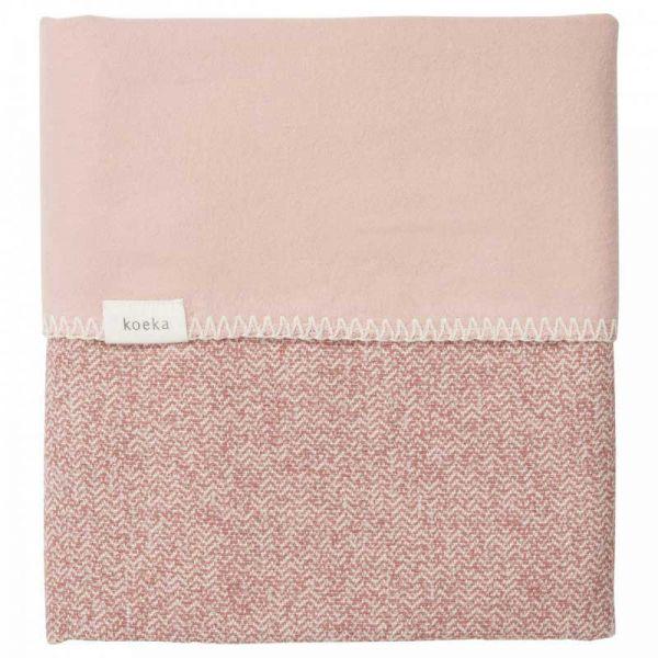 Koeka Babydecke Sommer Old Pink