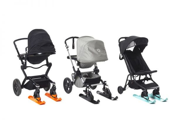 AXSO stroller ski double pack