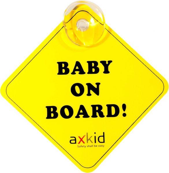 Axkid Autoschild Baby on board