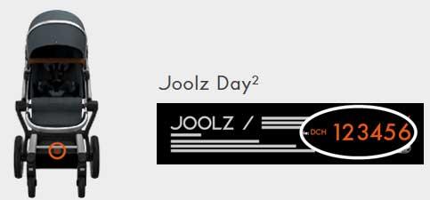 joolz-day-2-seriennummer