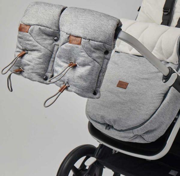 Najell Handwärmer für den Kinderwagen Grau