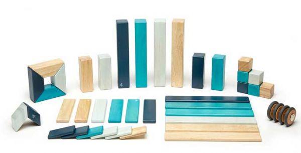 Tegu Magnetbausteine blau 42 Teile blau