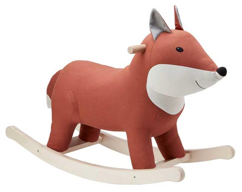 Kids Concept Rocking Horse Fox Mypram De