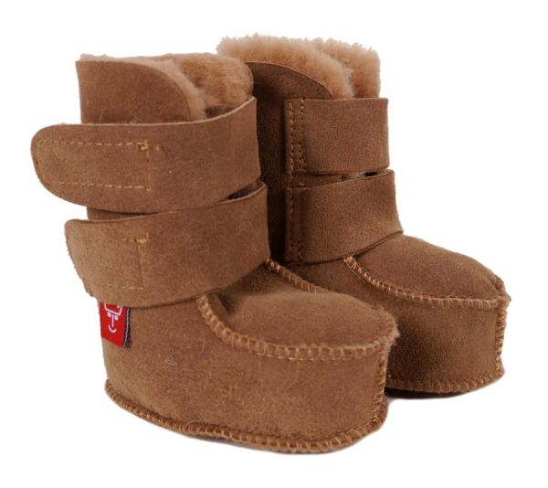 Kaiser Babyschuh High Boot 7427800 Haselnuss